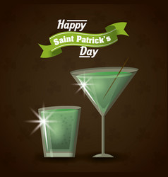 Saint patricks days card vector