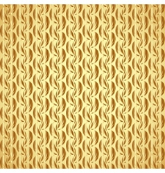 abstract gold leaf seamless pattern with ethnic vector image vector image