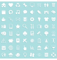 media icon background vector image vector image