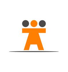 synergy logo vector image vector image