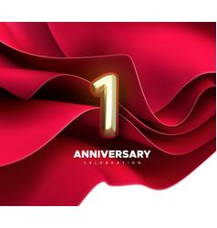 1th anniversary celebration vector