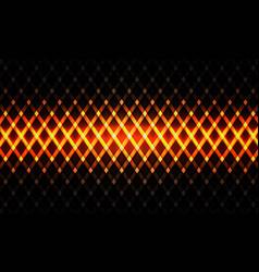 Abstract gold light line pattern woven dark grey vector