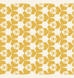 Abstract seamless yellow geometric pattern vector