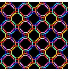circles seamless mesh vector image