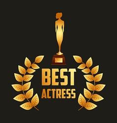 film award vector image