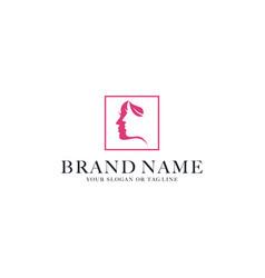 Logo design beauty vector