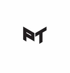 logo letter monogram initial designs template vector image