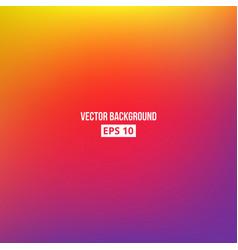 Orange yellow purple blur gradient vector