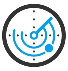 Round Radar Icon vector
