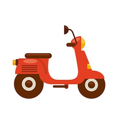 Scooter bike vector