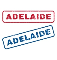 Adelaide Rubber Stamps vector image