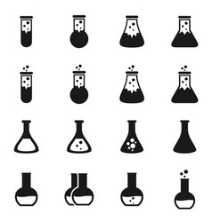 chemistry icon vector image