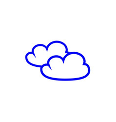 cloud of icons vector image