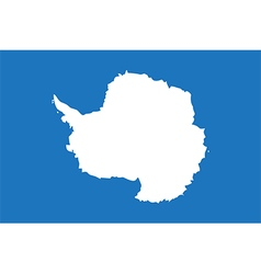 Flags antarctica vector