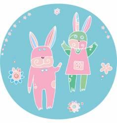 honey-bunny vector image