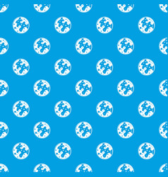 mars pattern seamless blue vector image