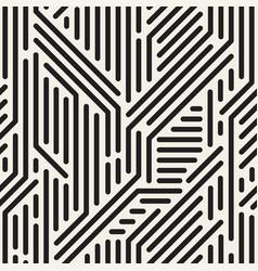 striped seamless geometric pattern digital vector image