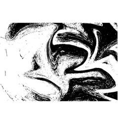 wave grunge line vector image