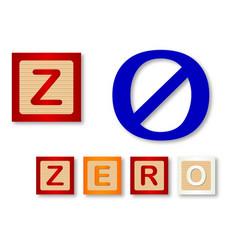 Z is for zero vector