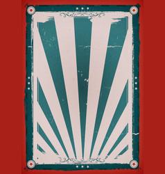 fourth of july vintage background poster vector image vector image