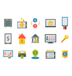 online payment methods confirmed finance paying vector image