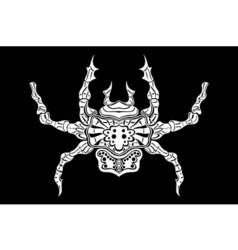 Stylized spider Animals vector