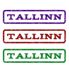 Tallinn watermark stamp vector