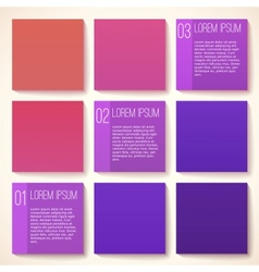 Template for infographic vector image