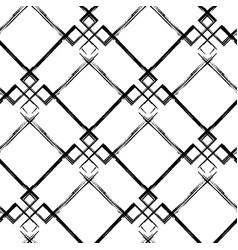 abstract grunge diagonal seamless pattern vector image