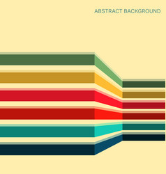 background with colored stripes vector image vector image