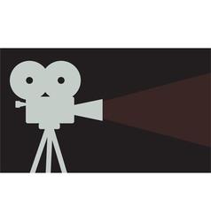 Cinema projector vector
