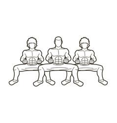Kung fu fighter martial arts action cartoon vector