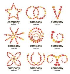 Logo of the petals vector