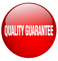 Quality guarantee red round gel isolated push vector