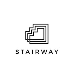 Up stair way sairways logo icon vector