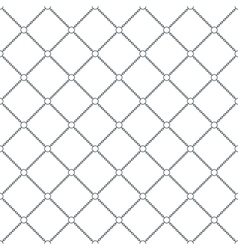 chain seamless pattern background vector image