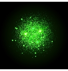 Shiny particles shape Sparkling background vector image