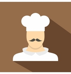 Cook icon flat style vector image