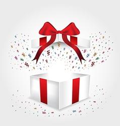 giftbox chirstmas vector image