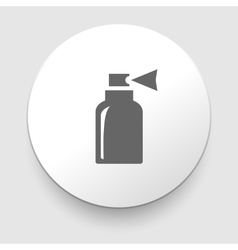 Isolated bottle icon vector