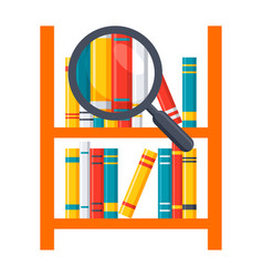 Library science icon vector