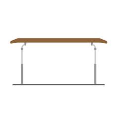 parallel bars gymnastics athlete sport fitness vector image