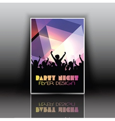 Party flyer vector