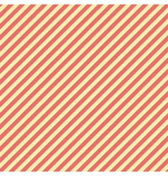 Retro striped pattern vector image vector image