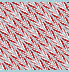 Seamless pattern with candy strokes vector