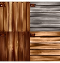 Wood texture wooden vector