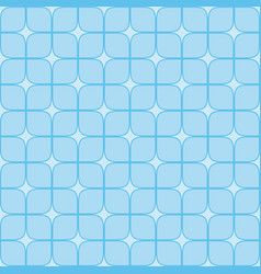 abstract geometric background with blue squares vector image