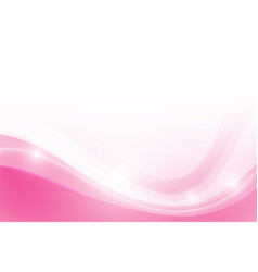 abstract pink background with simply curve vector image