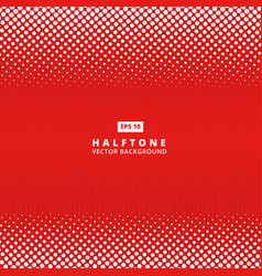 abstract red dotted line halftone effect vector image
