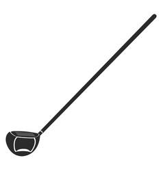 golf club icon vector image